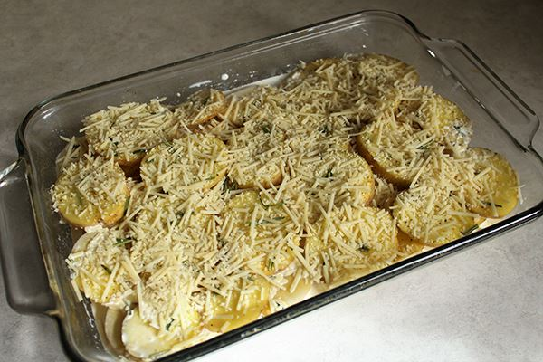 Rosemary and Parmesan Scalloped Potatoes - Step 2