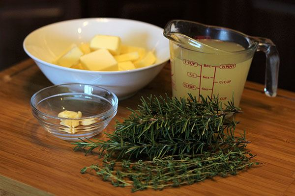 Herb Infused Butter Recipe Step 1