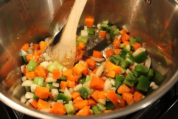 Beef Stew Vegetables Cooking